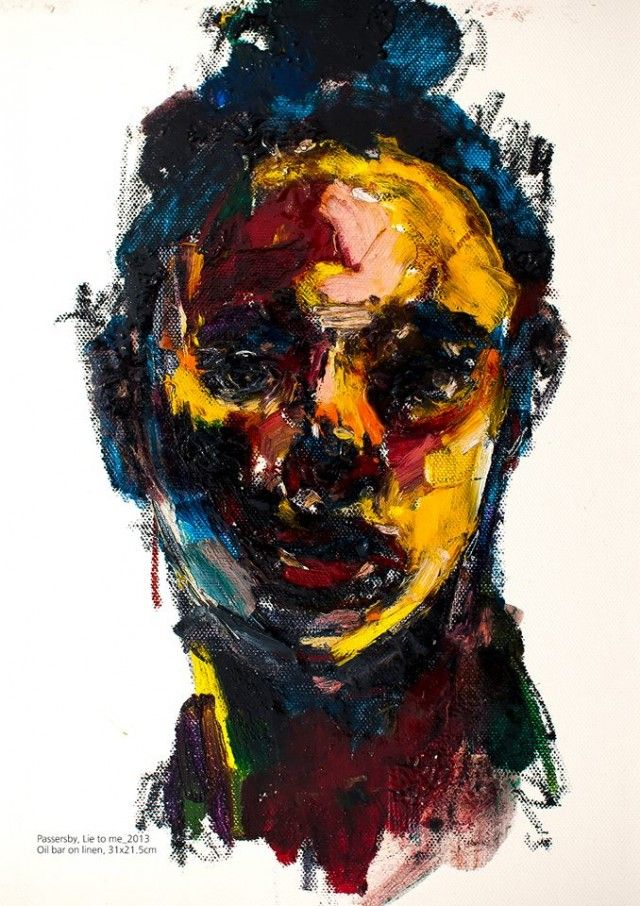 abstract portraits paintings pinterest abstract portrait