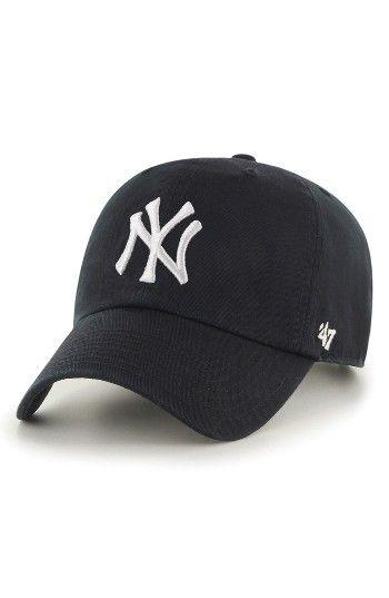 47 Clean Up Ny Yankees Baseball Cap Nordstrom Yankees Baseball Cap Baseball Cap Outfit Baseball Cap