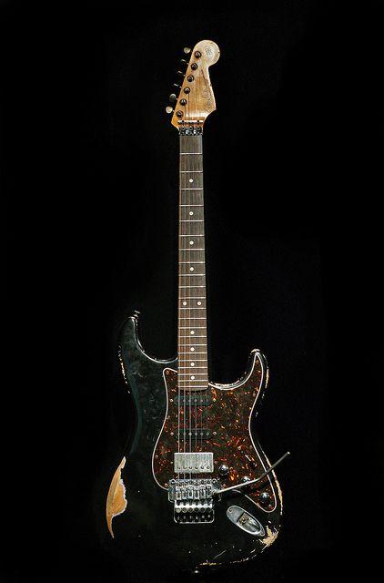 Fender Stratocaster Black Tortoise Heavy Relic   Music   Pinterest