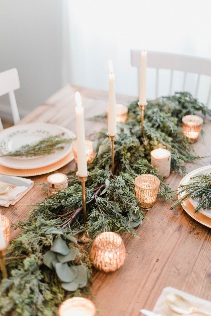ChristmasTablescape17 in 2020 Christmas tablescapes