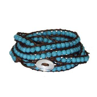 Mychau turquoise bracelet