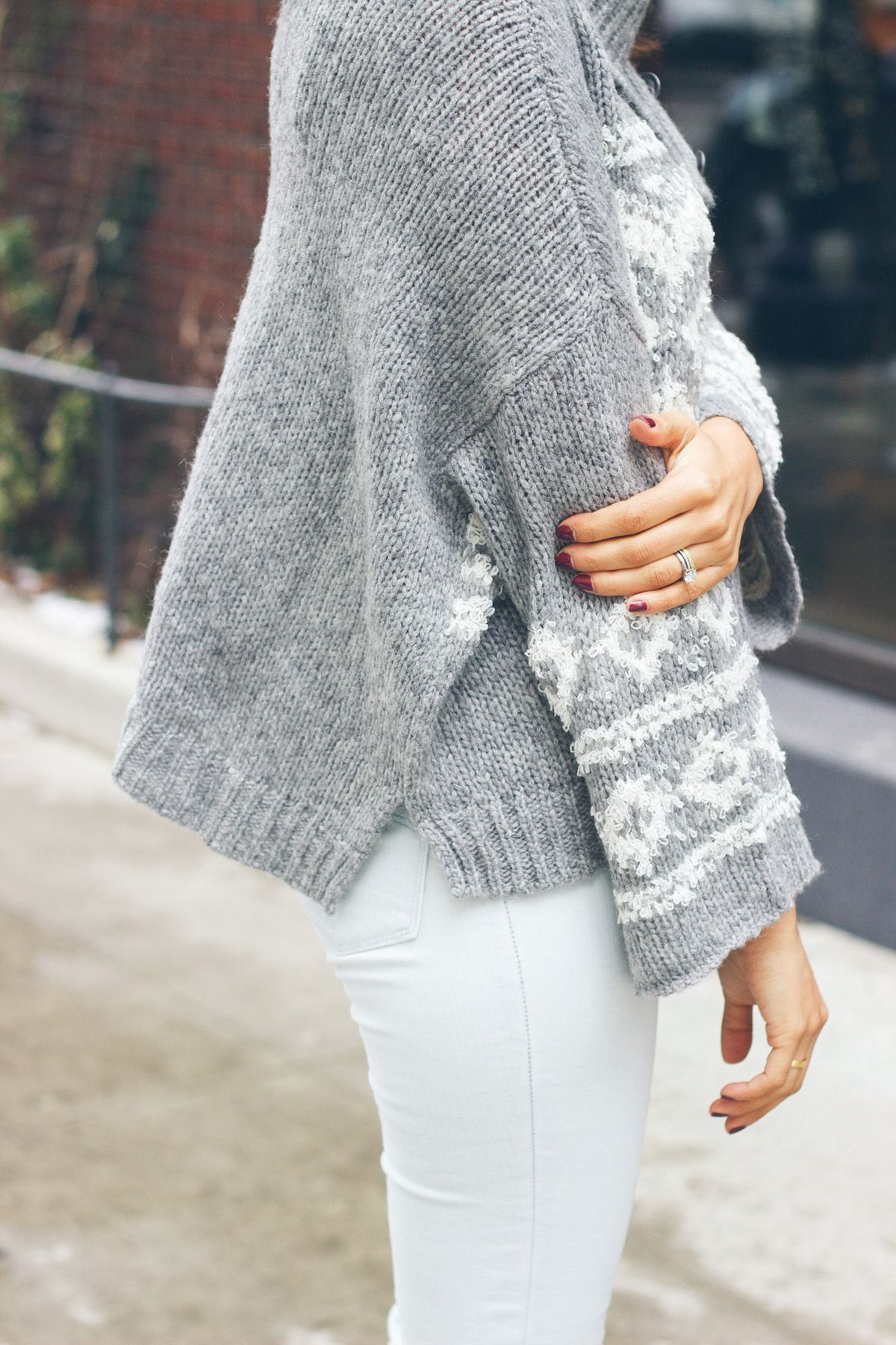 free people sweater, fair aisle sweater @zappos