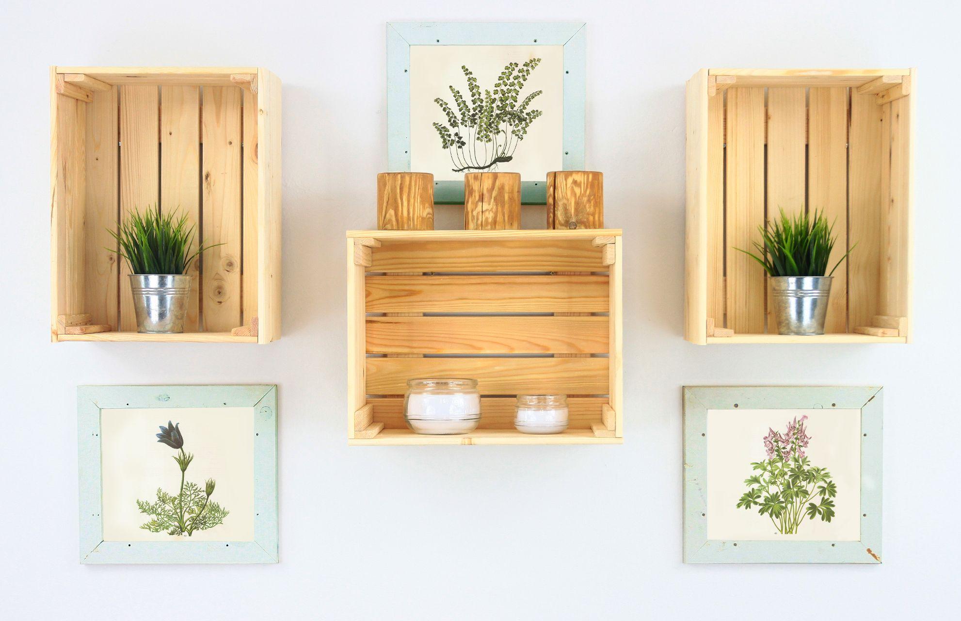 Skrzynka Drewniana B 38 Ozdobna Surowa Skrzynia 6495441847 Oficjalne Archiwum Allegro Floating Shelves Decor Home Decor