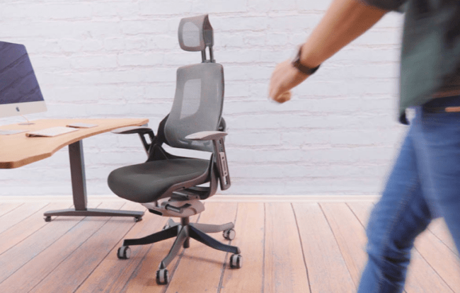 Please Take A Seat In The Pursuit Ergonomic Chair By Uplift Desk Uplift Desk Ergonomic Chair Adjustable Chairs