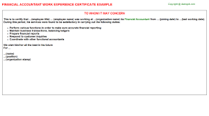 Image result for experience certificate sample in word format image result for experience certificate sample in word format yadclub Image collections