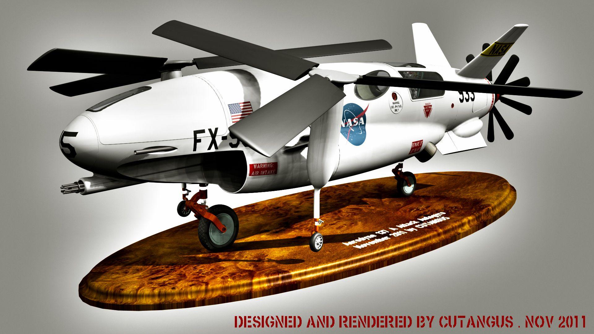 N.A.S.A. model by CUTANGUS on DeviantArt