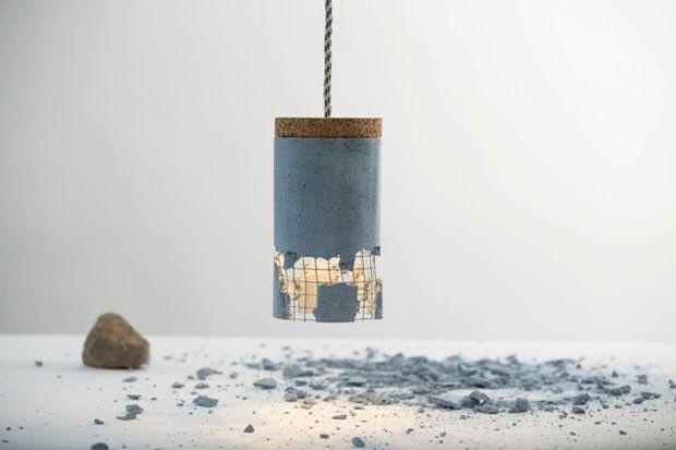Uma luminária para se quebrar, ou não. Designer romeno cria peça que pode ser customizável