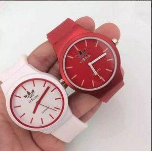 e9d9ce6b2aa Kit 05 Relógios Adidas Feminino De Silicone No Atacado