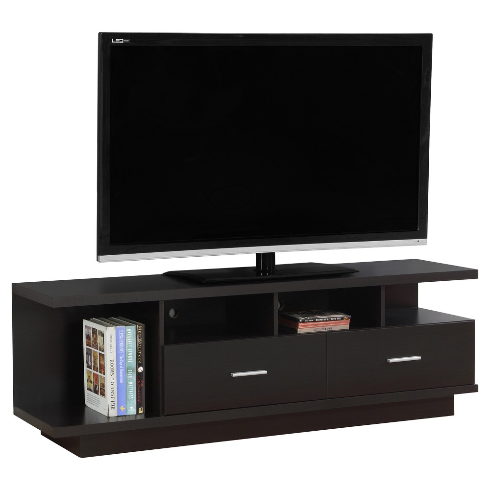 Tv Stand With Drawers Dark Taupe Everyroom Tv Stand With Drawers Tv Stand Monarch Specialties