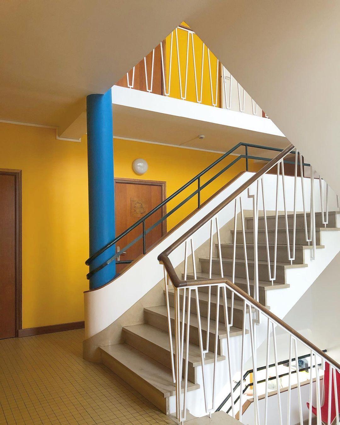"Adam Štěch on Instagram: ""Hôtel Le Trident Thyrsé, architect Henri Zimmer, Royan, 1952-1953. #modernism #frenchmodernism #royanmodernism #modernarchitecture…"""