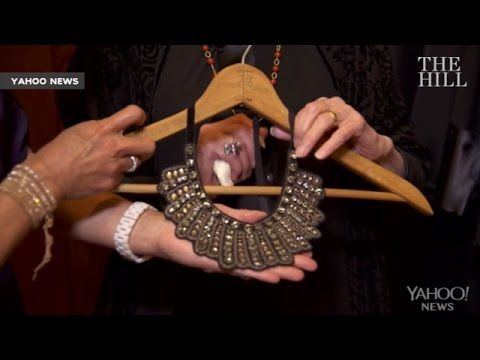 4fd9db285 Ruth Bader Ginsburg's Dissent Collar - Dissent Pins | SCOTUS Rulings ...