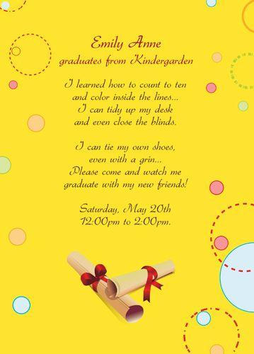 free printable graduation invitations for kindergarten