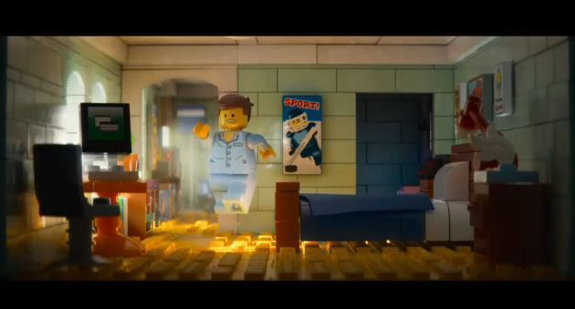 Emmet's Apartment from the Lego Movie | Lego Apartment Inspiration ...