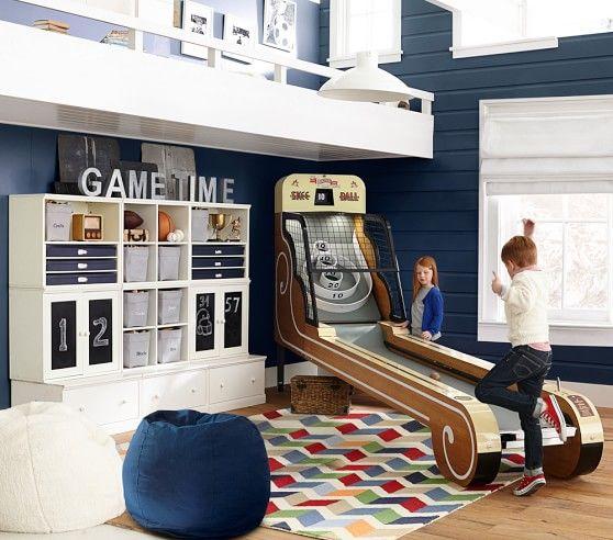 Skeeball Machine Pottery Barn Kids Skee Ball Kid Beds