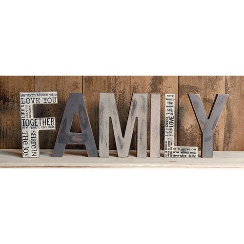 Our Family Letters Are A Perfect Accent To Your Primitive Decor They Free Standing And Go With Other From Star Quilt