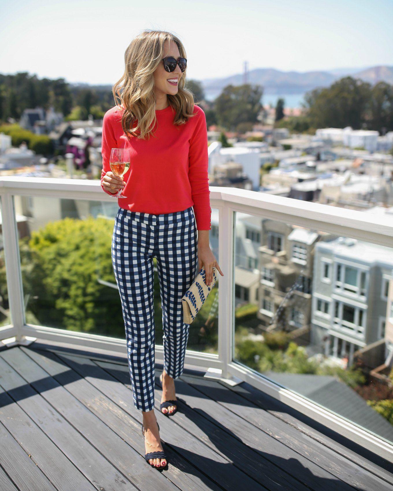 c79281e90aff CLASSIC GINGHAM PANTS | MEMORANDUM | NYC Fashion & Lifestyle Blog for the  Working Girl