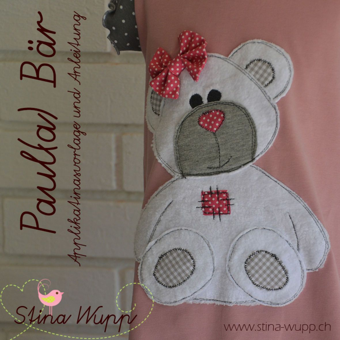 Baby Krabbeldecke Patchwork Nähen Ebook Applikation Paul A Bär Applikationen