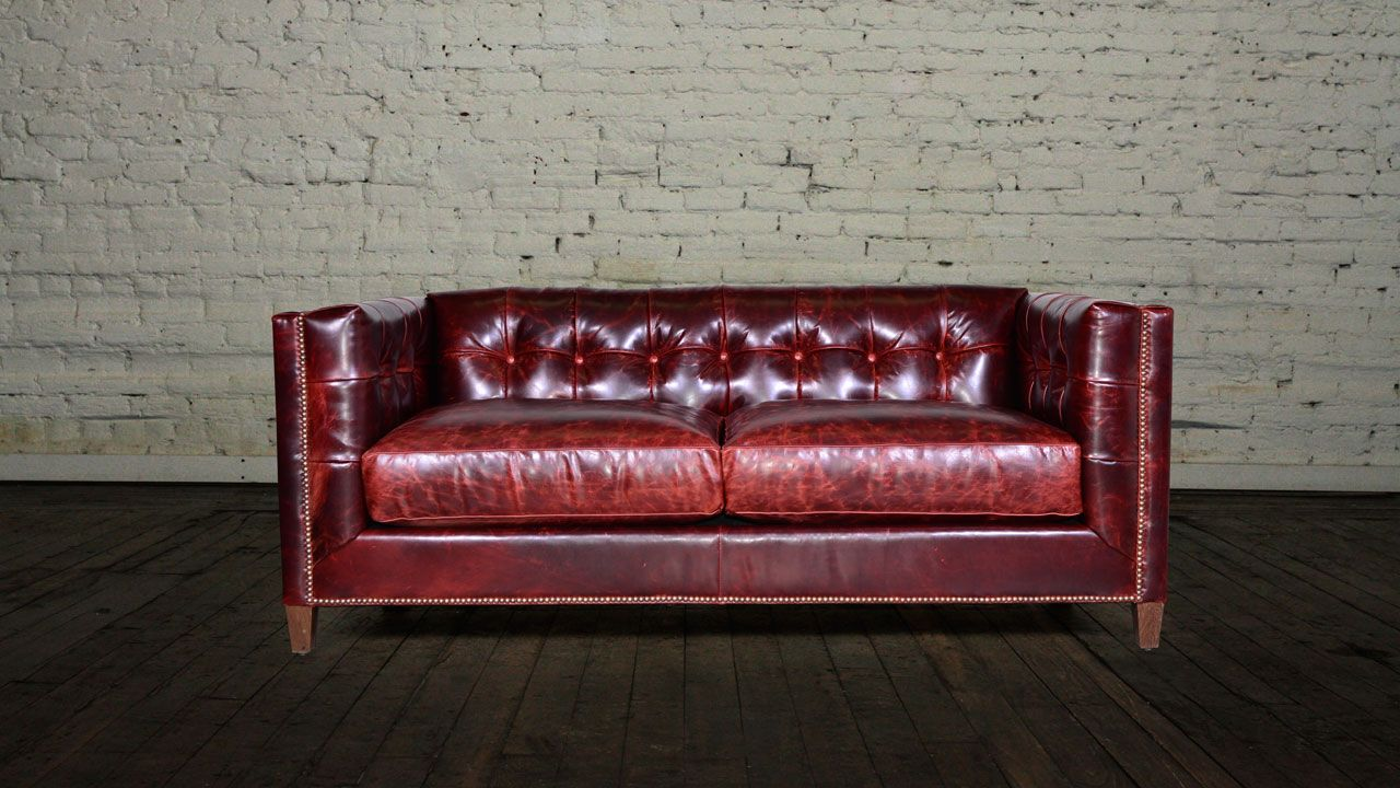 Cococo Home Arden In Brompton Walnut Www Cococohome Com Leather Sofa Living Leather Sofa Living Room Living Room Sofa