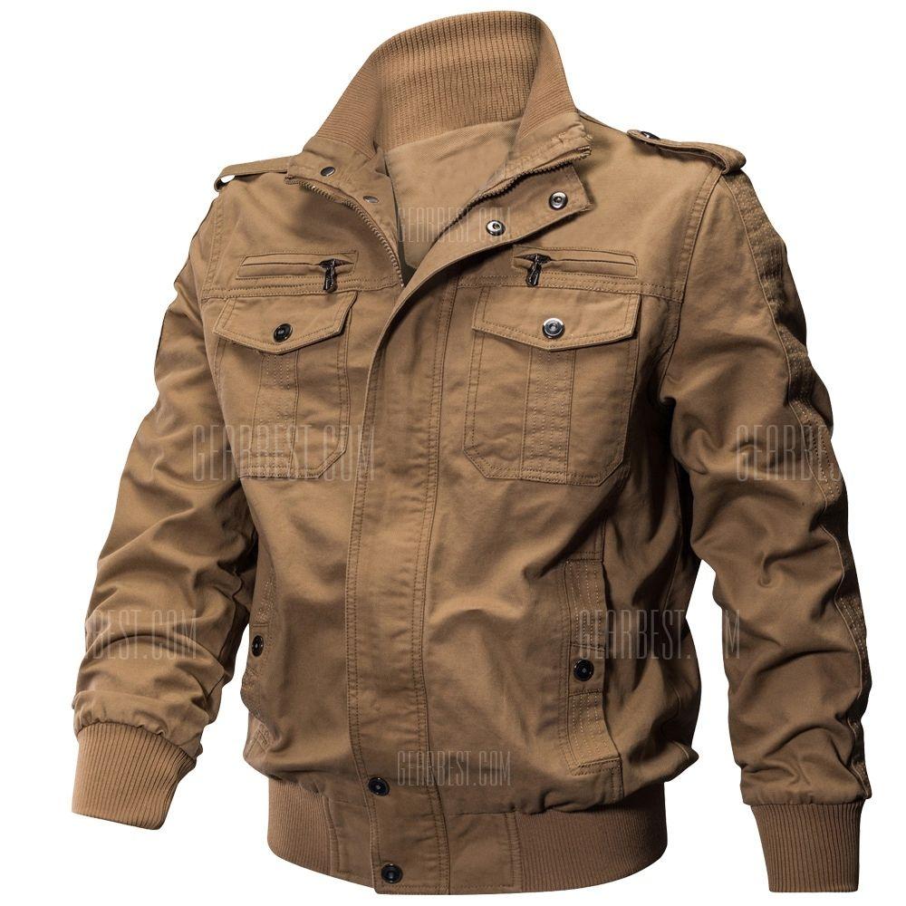 a12c2a8b2 QIQICHEN US Size Autumn Cotton Casual Men's Jacket in 2019 | Fashion ...