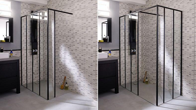 Style industriel salle de bain salle de bains familiale grande salle de bain et salle de bain - Etabli salle de bain ...