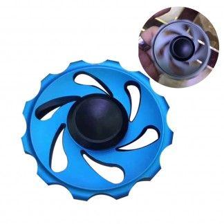 Fire Wheels Aluminum Alloy EDC Hand Spinner Fidget Toy