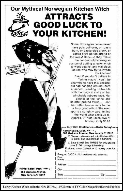 Norwegian Kitchen Witch Witch Doll Kitchen Witch Kitchen Witch Decor