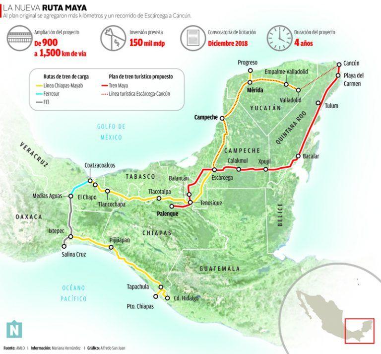半島 地図 ユカタン