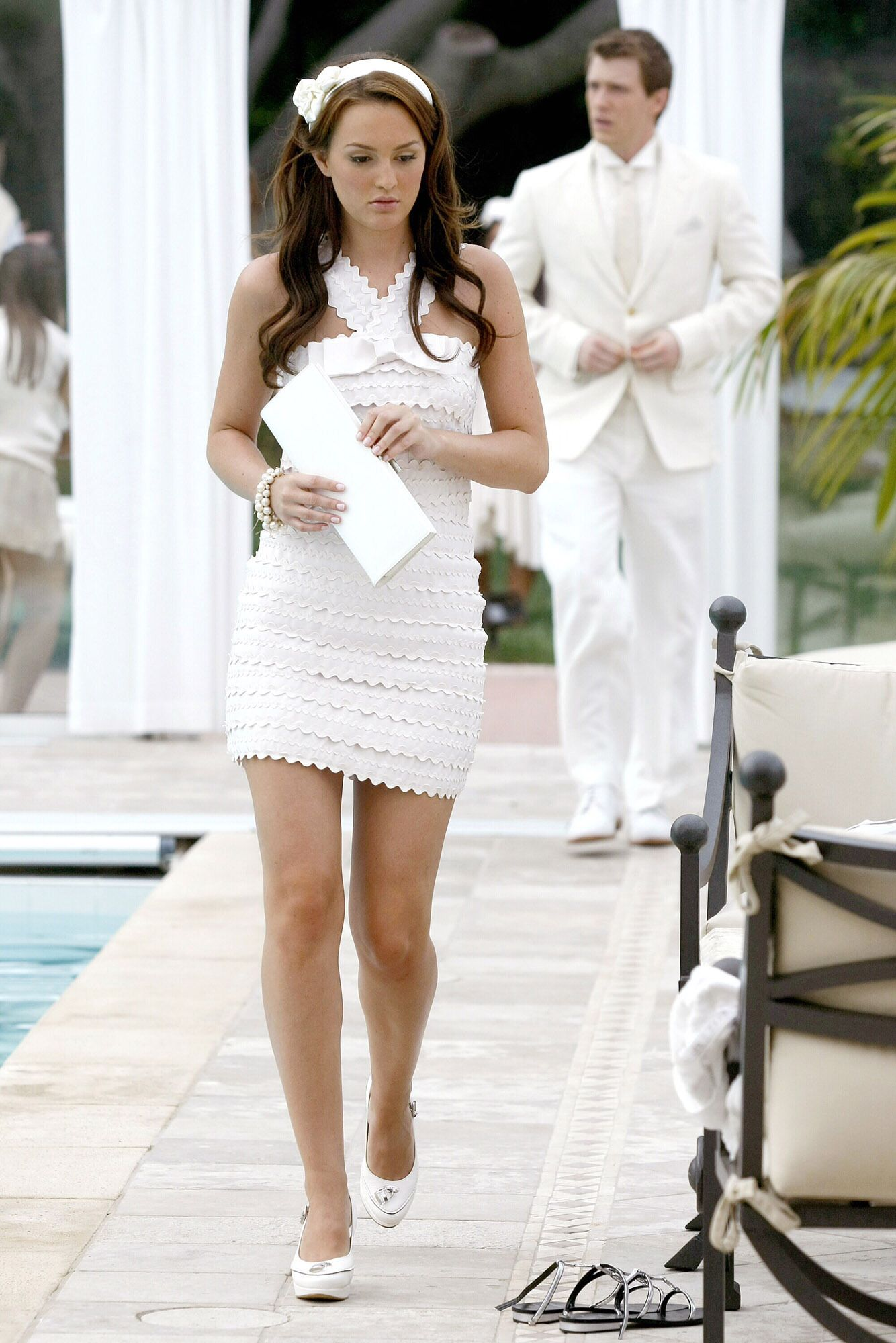 Gossip Girl\'s version of the White Party, Blair Waldorf White Hot in ...