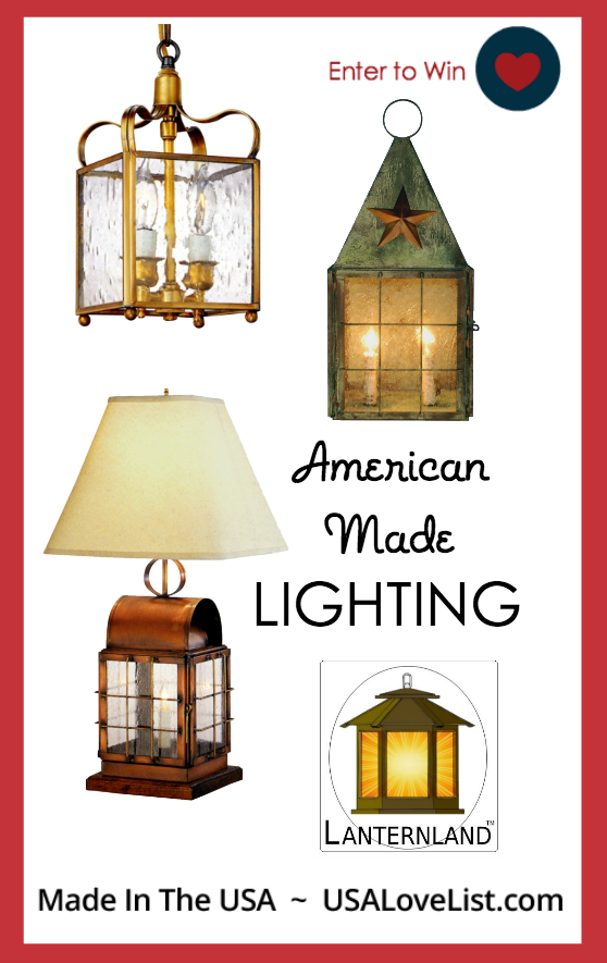 Giveaway American Made Lighting By Lanternland Outdoor