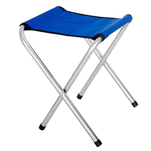 Vivoice Small Folding Chair Stool Camping Stool Furniture Stools Camp Stool  For Camping Traveling Blue *