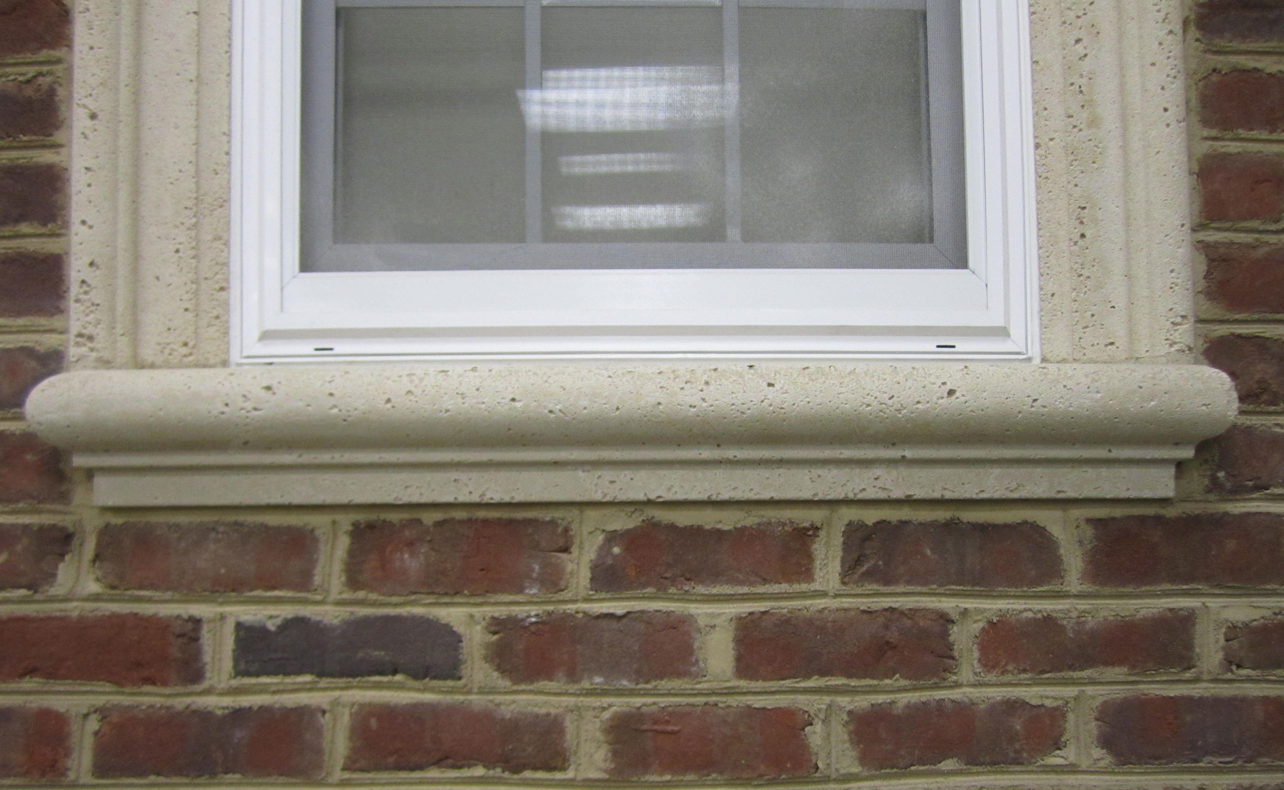 Precast concrete window sills bullnose sills precast concrete sills are used below windows for Window sills exterior