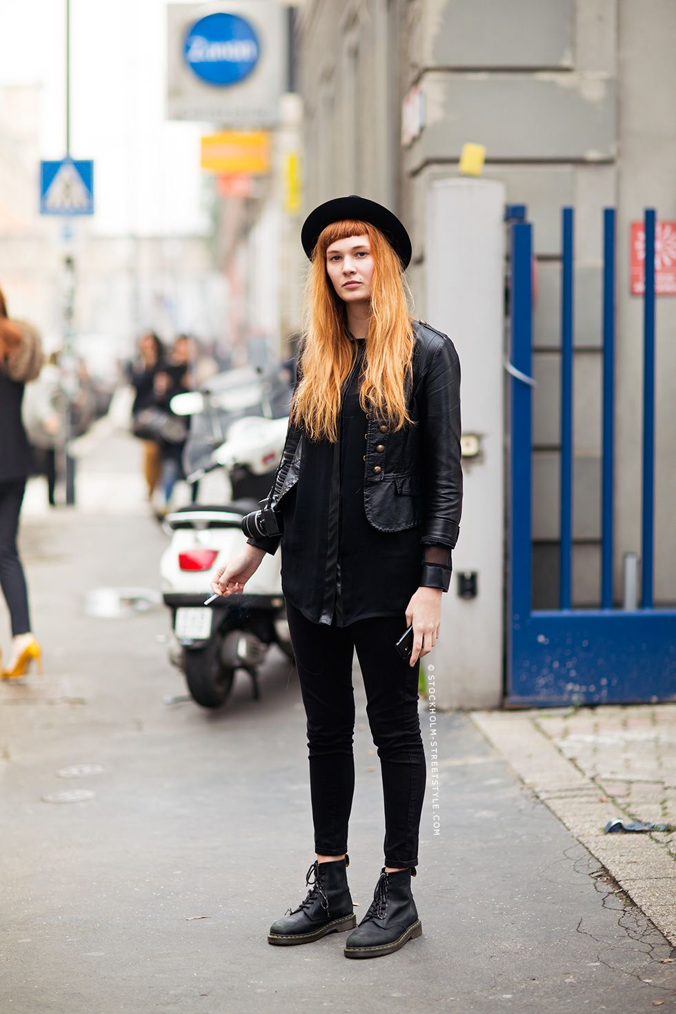 alice stockholm streetstyle doc martens style and skinny jeans. Black Bedroom Furniture Sets. Home Design Ideas