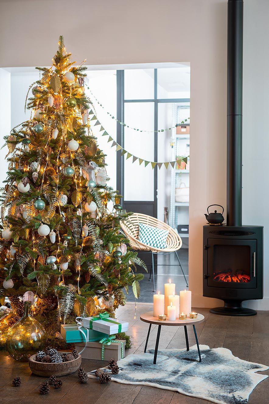 Sapin de Noël #truffaut | Ambiance noël, Deco noel, Guirlande noel