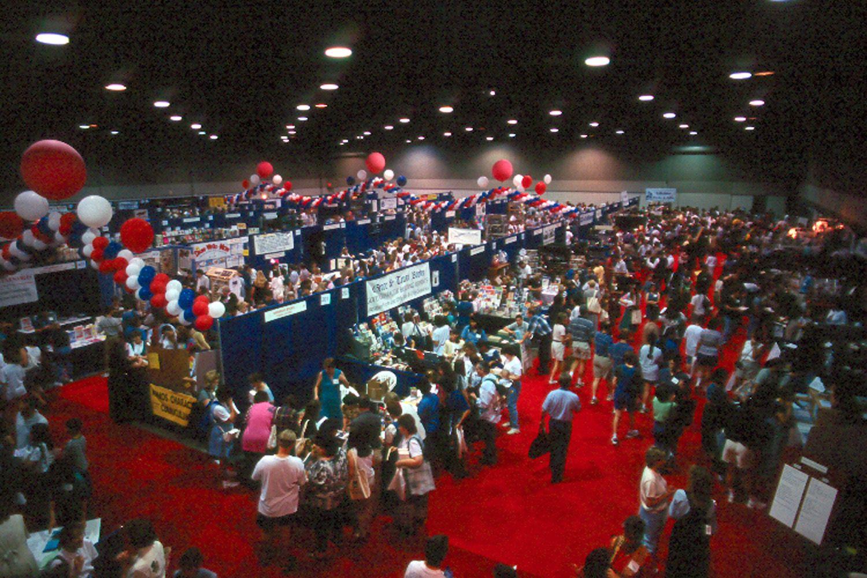 Trade Show At The Arlington Convention Center Convention Centre Trade Show Arlington