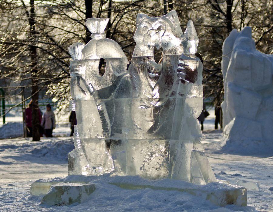 Ice sculpture. by Владимир Бесперстов, via 500px