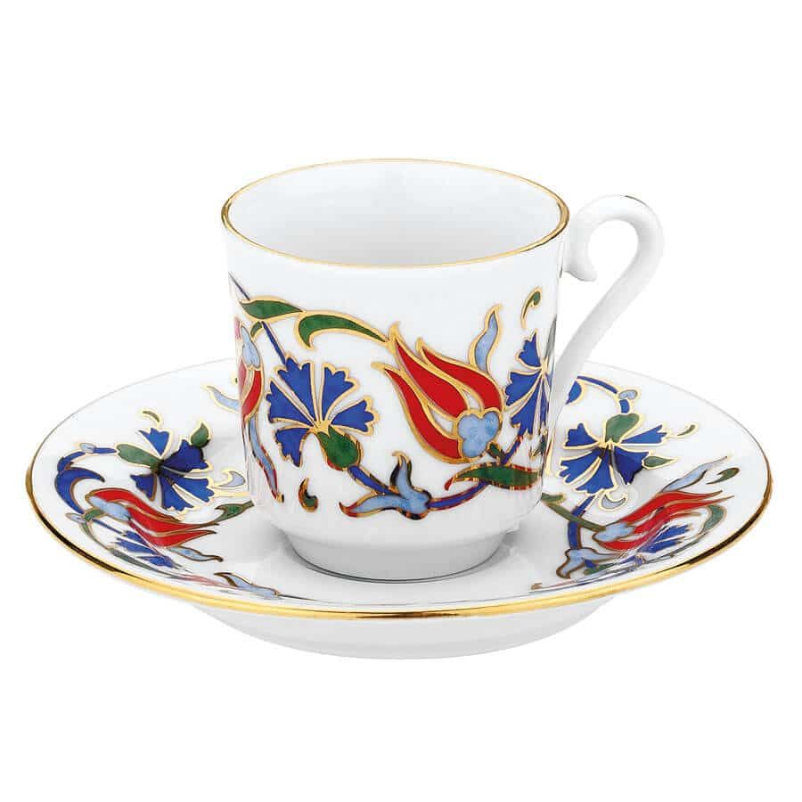 Buy traditional turkish coffee serving set for six 460