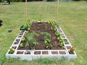 Miscellaneous Topics and Ideas by Dee: Raised bed for vegetable garden