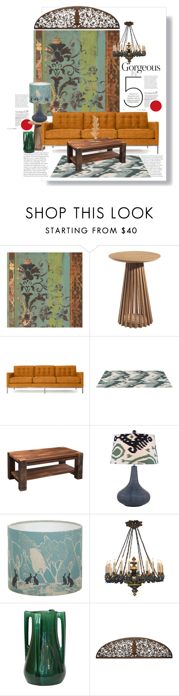 """""""Mix"""" by jesking ❤ liked on Polyvore featuring interior, interiors, interior design, home, home decor, interior decorating, Thrive, DutchCrafters, Orwell and Goode and Aidan Gray"""