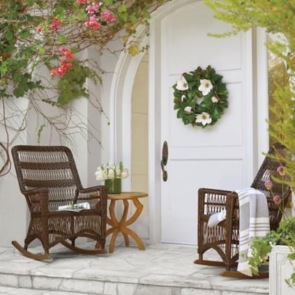 Photo of Magnolia Wreath | Frontgate