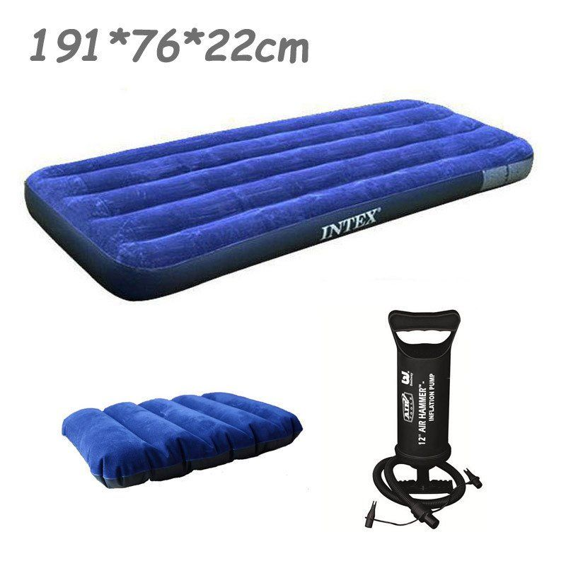 sports bed flocked mattress orders air toys bestway product shipping free twin inflatable on