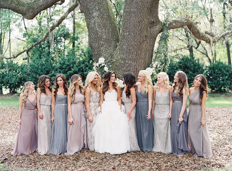 Rustic + Elegant Jacksonville Wedding | Pastel colour ...