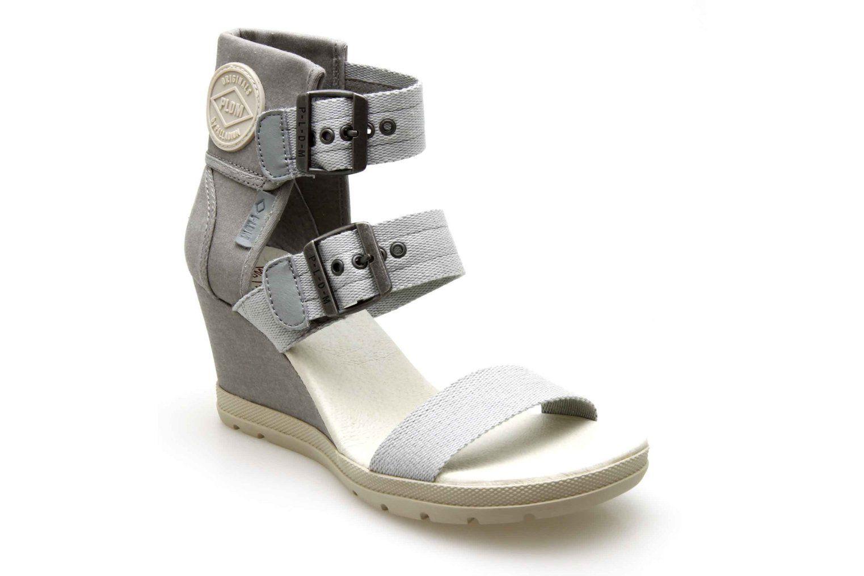 GrisShoes Chaussure Palladium Compensées Starlet Sandales 0vmnwON8