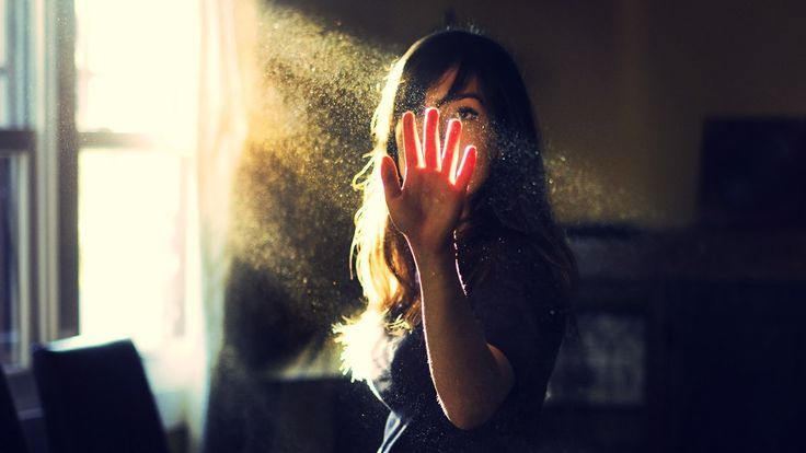 Image result for window light showing dust particles