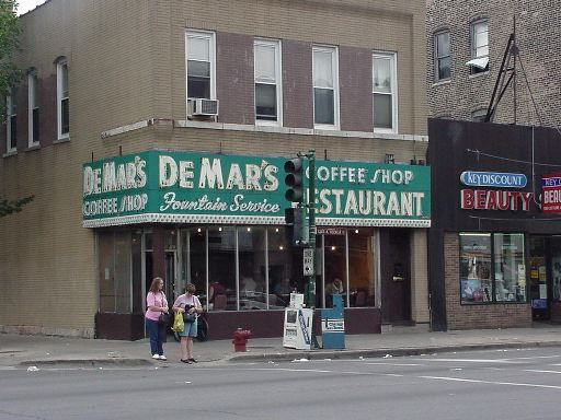 De Mar S Coffee Shop Restaurant My Parents Loved This Place Chicago Pictures Chicago City Chicago Photos