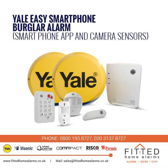 High Wycombe Alarm Systems For Home Smartphone Intruder Alarm