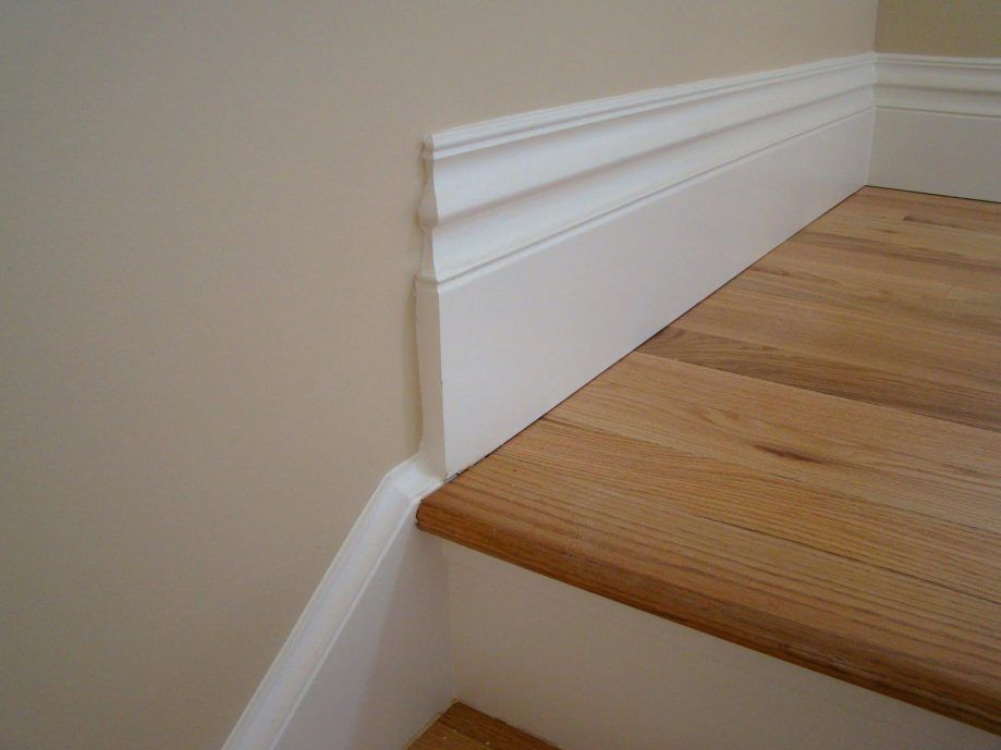 Baseboard Baseboards And Trim Search Oak Baseboard Home Depot Installing Uneven Floor Rubber Molding Lowes Glamorous Baseboard Styles Baseboards Stairs Trim