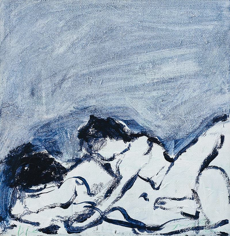 'Before' (2013) by English artist Tracey Emin (b.1963). via artstack