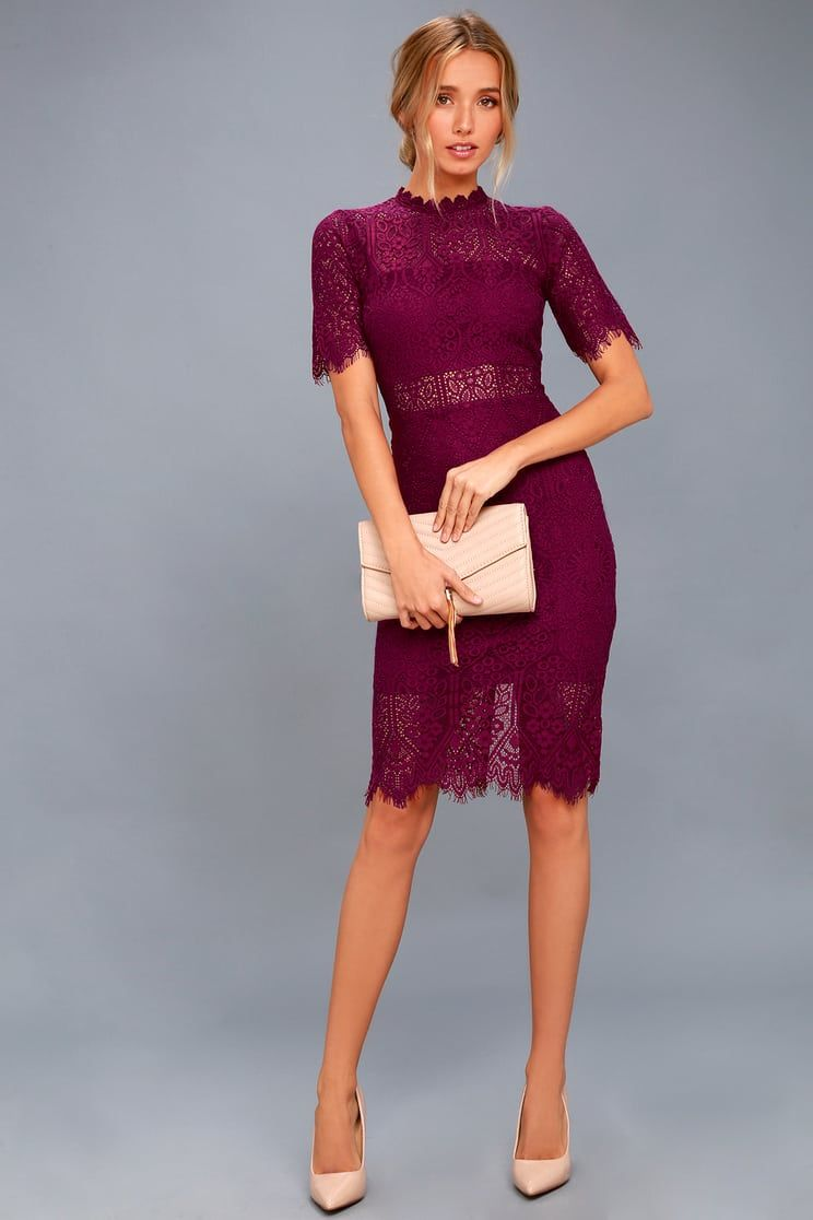 fecfe2218b Remarkable Burgundy Lace Dress