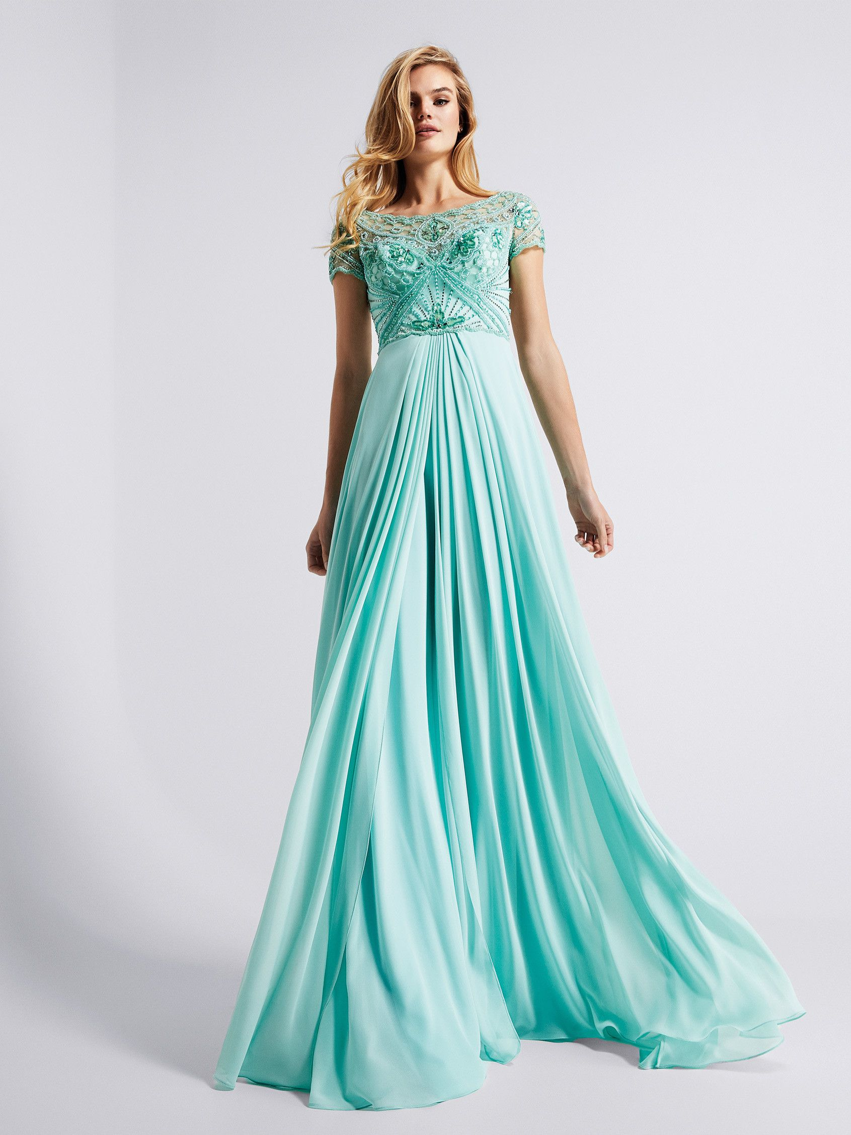 aab96d834d Gales: Exquisite flared cocktail dress with bejeweled bodice ...