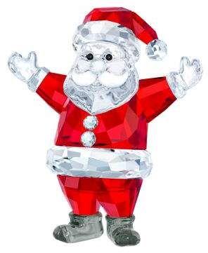 23e17e52298e1 Swarovski Santa Claus Crystal Ornament | Products | Christmas ...